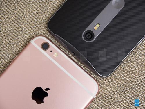 Apple iPhone 6s Plus vs Motorola Moto X Pure