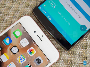 Apple iPhone 6s Plus vs LG G4