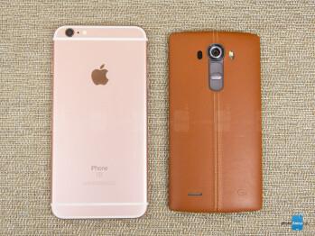 Apple iPhone 6s Plus vs LG G4