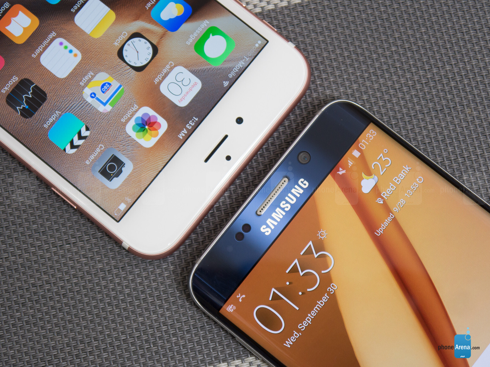 apple iphone 6s plus vs samsung galaxy s6 edge. Black Bedroom Furniture Sets. Home Design Ideas