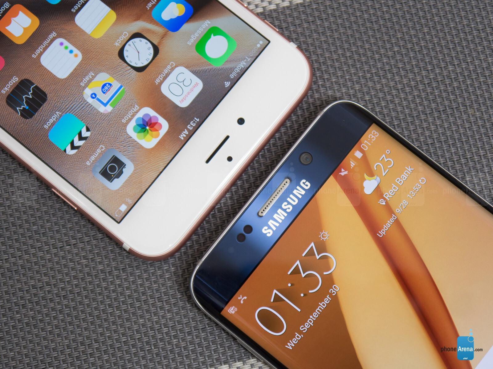 Iphone 6 plus galaxy s6 edge