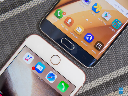 Apple iPhone 6s Plus vs Samsung Galaxy S6 edge+