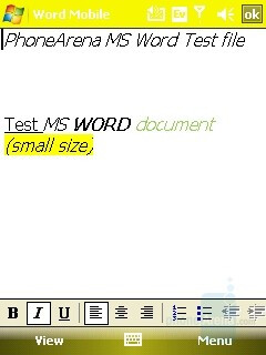MS Word file - HTC Mogul Review
