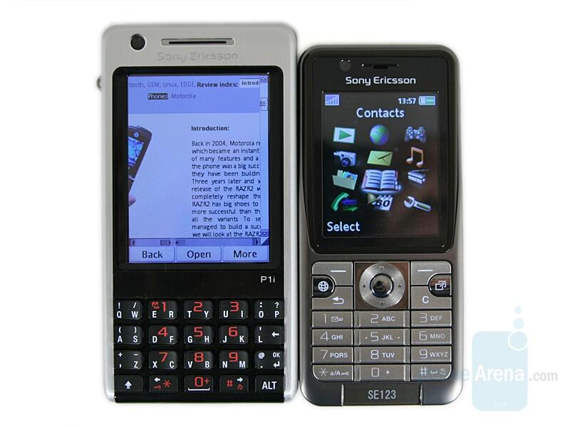 Left - SE P1, Right - SE K530 - Sony Ericsson K530 Preview