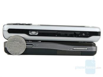Up - SE P1, Down - SE K530 - Sony Ericsson K530 Preview