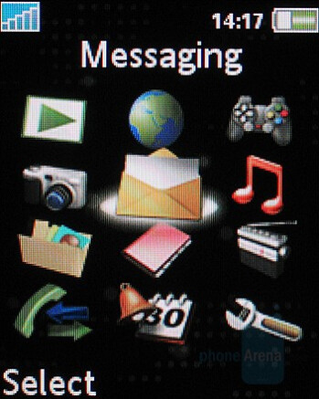 Main menu - Sony Ericsson K530 Preview