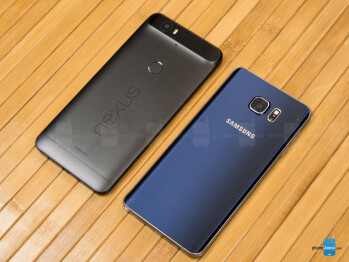 Google Nexus 6P vs Samsung Galaxy Note5