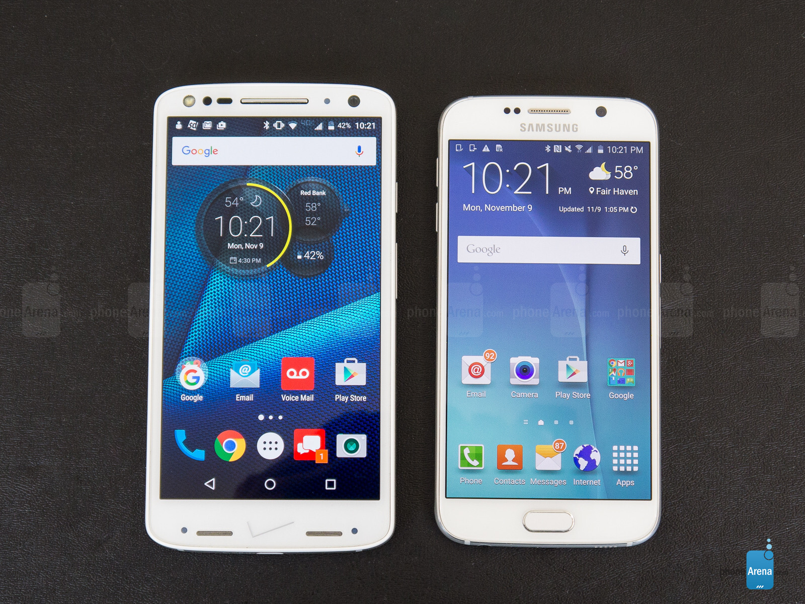 Compare Phones Side By Side >> Motorola DROID Turbo 2 vs Samsung Galaxy S6