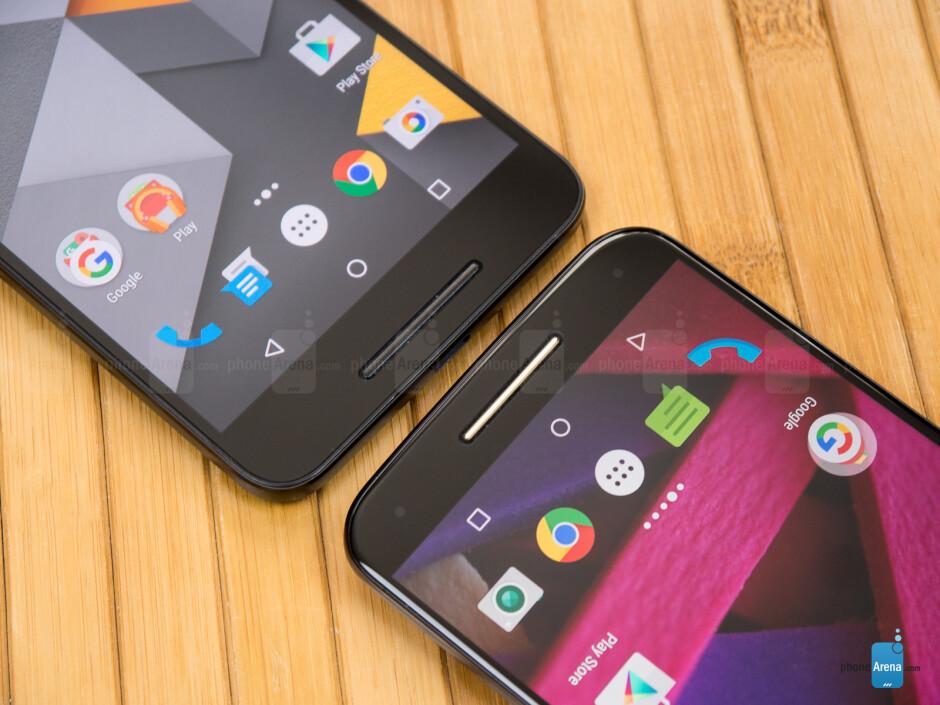Google Nexus 6P vs Motorola Moto X Pure Edition (2015)
