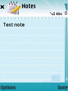 Notes - Nokia 5700 XpressMusic Review