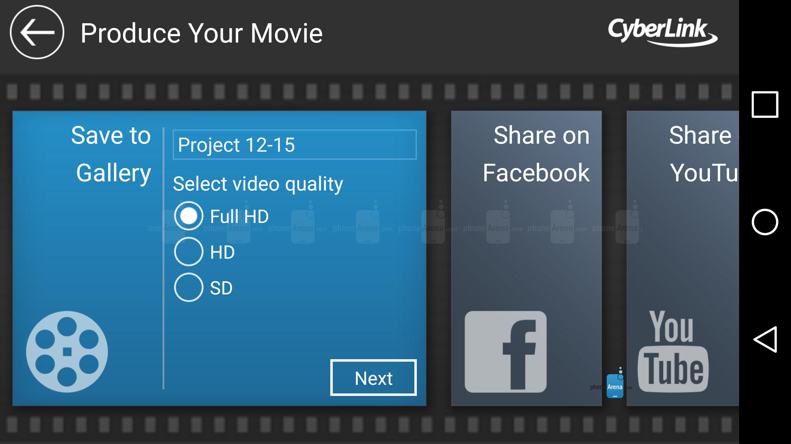 Cyberlink PowerDirector Mobile App Review ... - YouTube