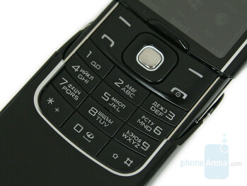 the keypad - Nokia 8600 Luna Review