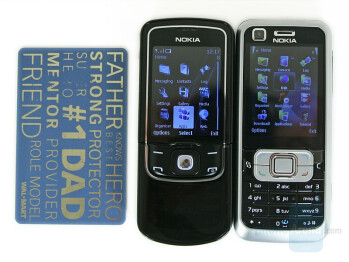 Compared to Nokia 6120 Classic - Nokia 8600 Luna Review