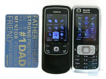 Compared to Nokia 6120 Classic - Nokia 8600 Luna Review