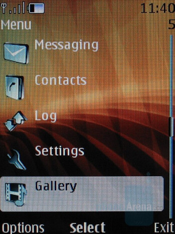 Interface - Nokia 8600 Luna Review