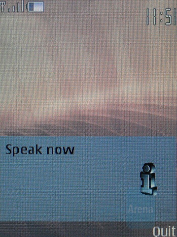 Voice Commands - Nokia 8600 Luna Review