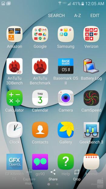 TouchWiz on the Galaxy S7 - Samsung Galaxy S8 vs Galaxy S7