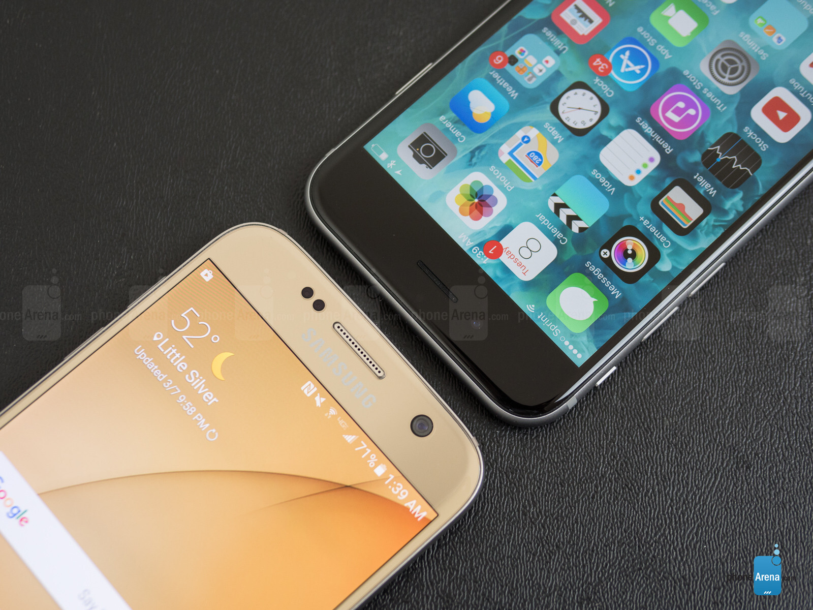 what is other on iphone samsung galaxy s7 vs apple iphone 6s call quality 4166