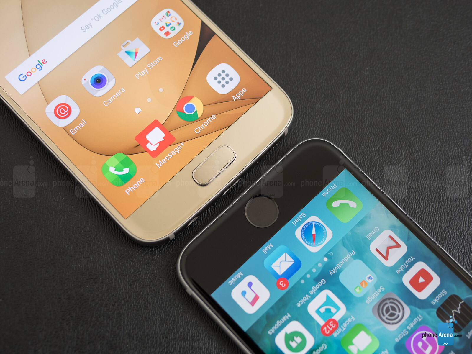 what is other on iphone samsung galaxy s7 vs apple iphone 6s 4166