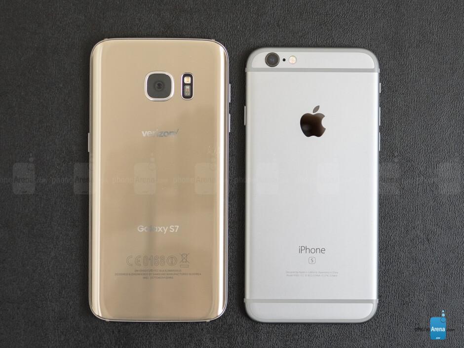 Samsung Galaxy S7 vs Apple iPhone 6s