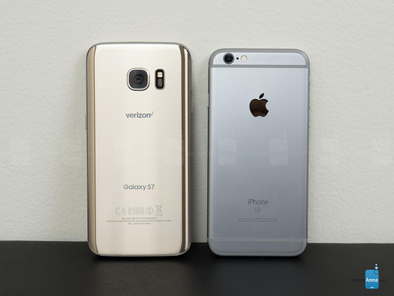 iphone s7 vs samsung s7