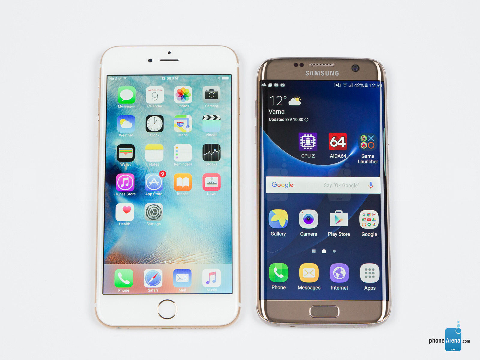 samsung vs iphone Iphone 4g sales are hot, but five carriers will support the samsung galaxy s, and that's just where the differences begin.