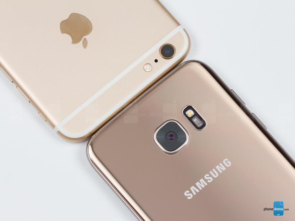 Samsung Galaxy S7 edge vs Apple iPhone 6s Plus