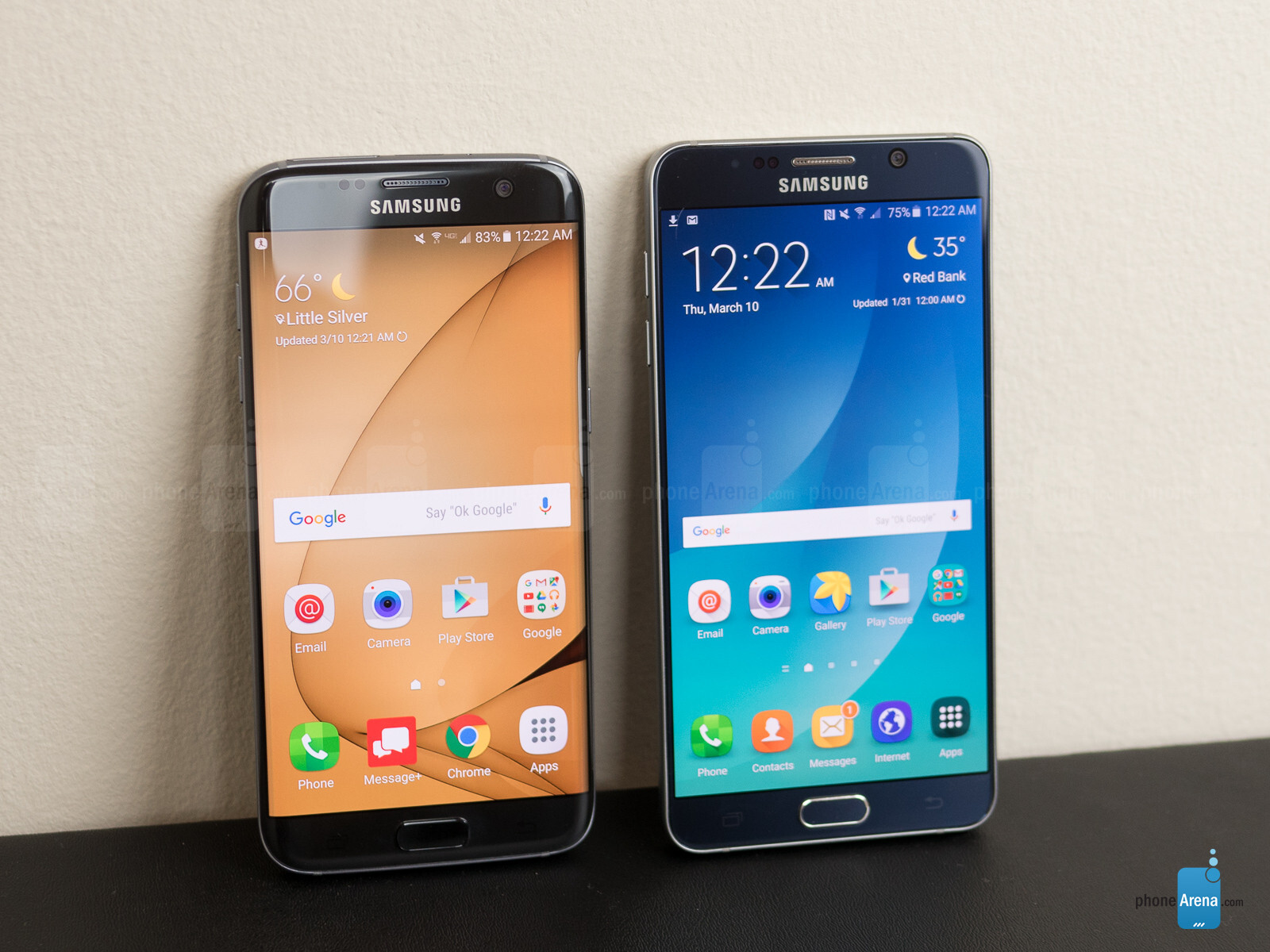 Samsung Galaxy V: Samsung Galaxy S7 Edge Vs Samsung Galaxy Note 5