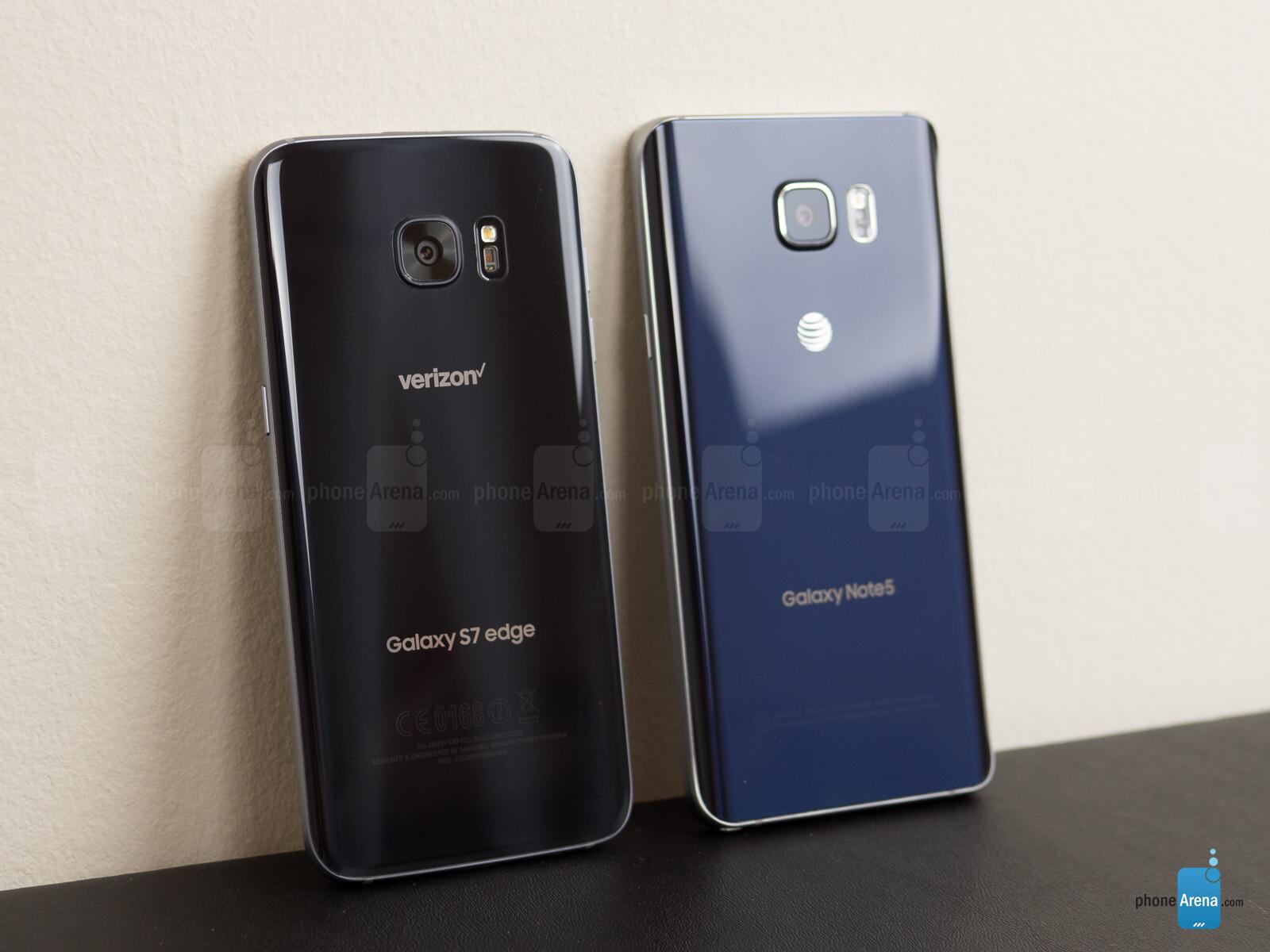 Samsung Galaxy S7 edge vs Samsung Galaxy Note 5 - Call