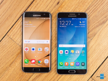 Samsung Galaxy S7 edge vs Samsung Galaxy Note 5