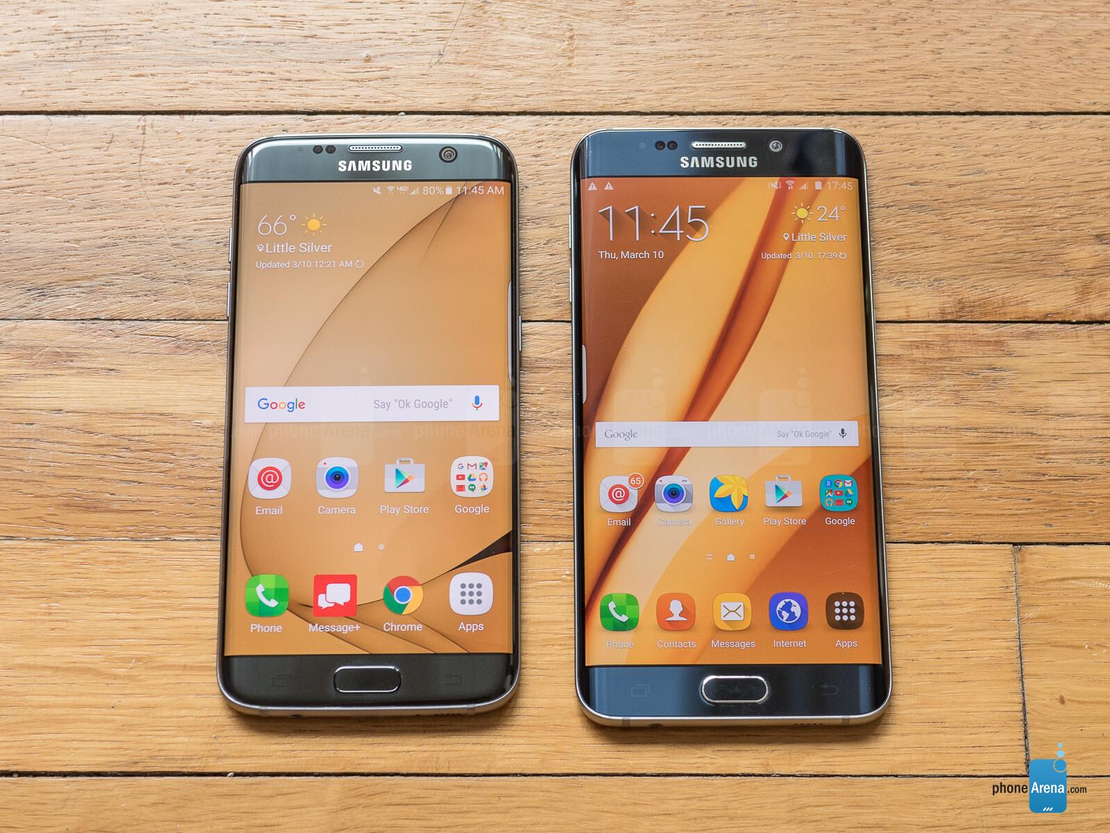 Samsung Galaxy S7 Edge Vs Samsung Galaxy S6 Edge Call