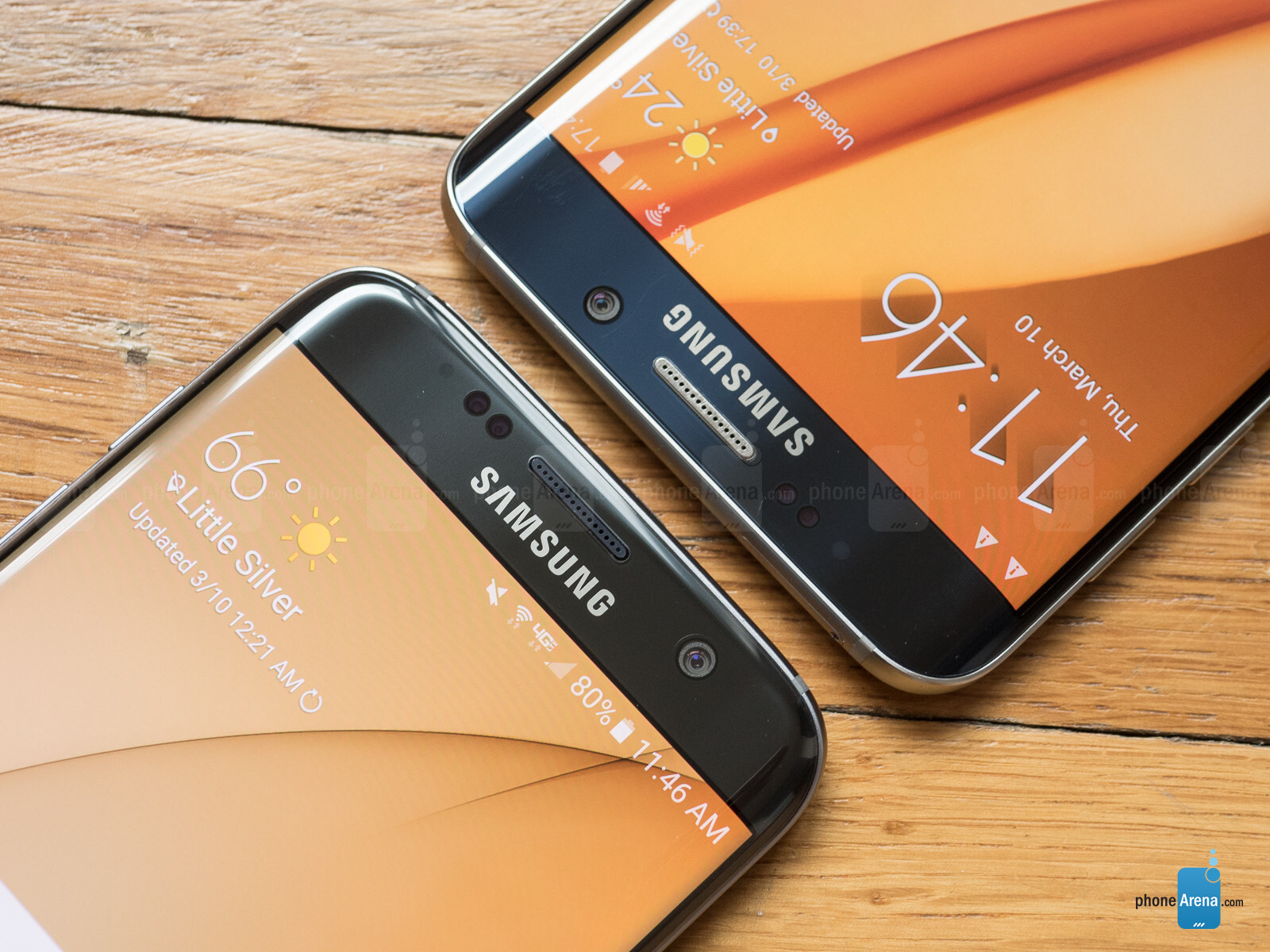 Samsung Galaxy S7 Edge Vs Samsung Galaxy S6 Edge+