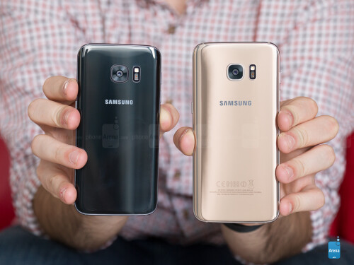 Samsung Galaxy S7 Edge vs Galaxy S7