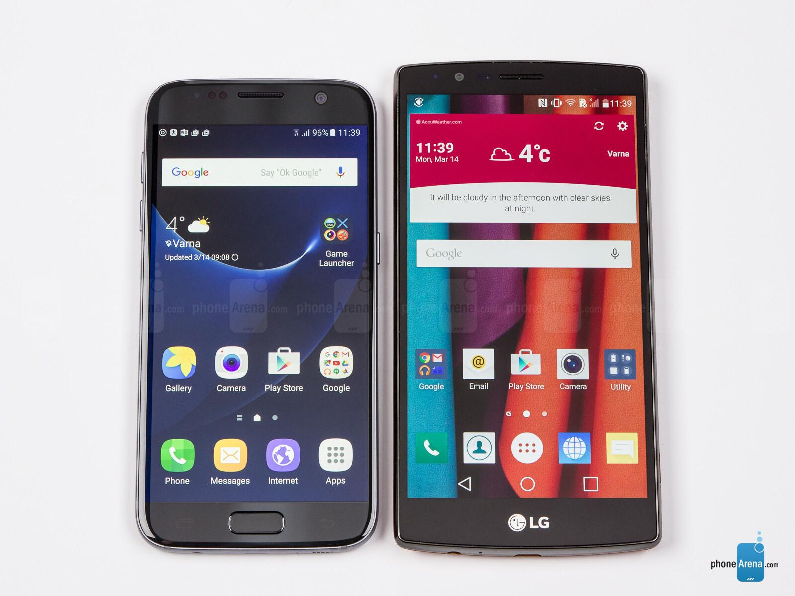 Samsung Galaxy S7 vs LG G4 - PhoneArena