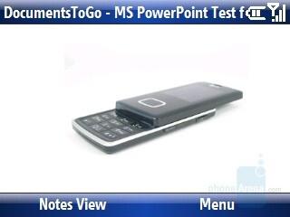 PowerPoint presentation - Motorola Q9h Review