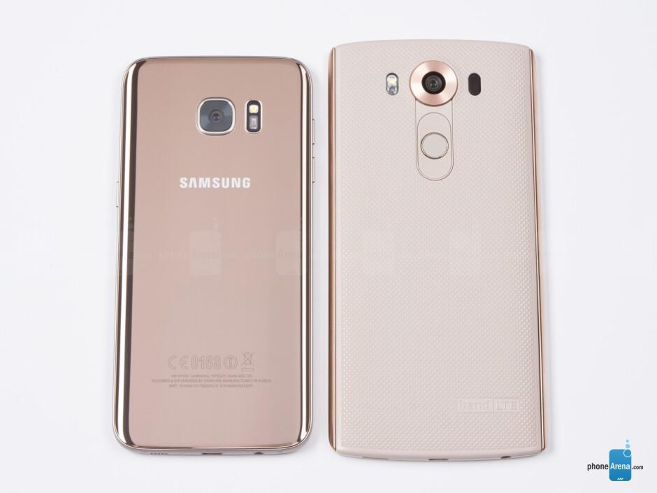 Samsung Galaxy S7 Edge vs LG V10