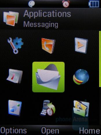 Main Menu as Grid - Motorola Z8 Preview