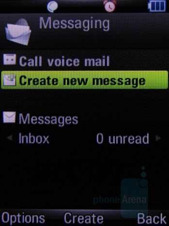 Z8 - Messaging - Motorola Z8 Preview