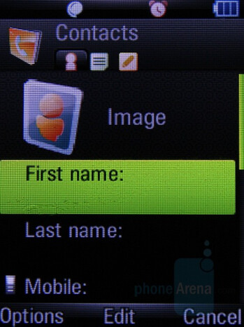 Phonebook - Motorola Z8 Preview