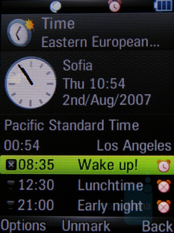 Z8 - Clock - Motorola Z8 Preview