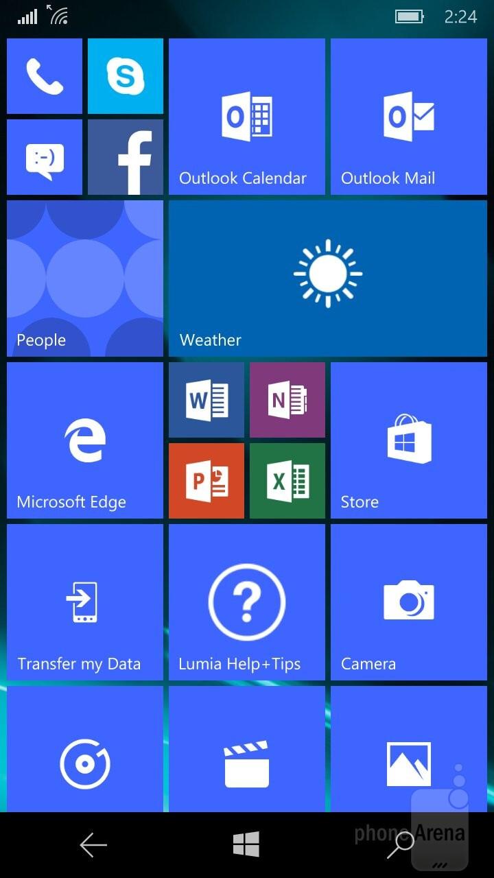 windows phone 10 lumia 650