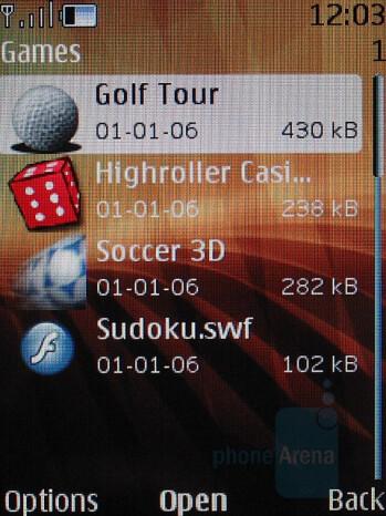 Games - Nokia 8600 Luna Review