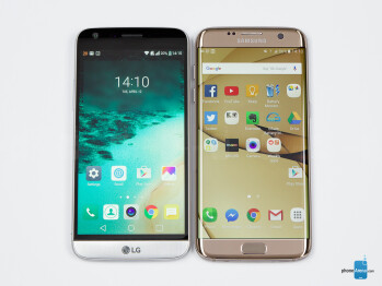LG G5 vs Samsung Galaxy S7 edge