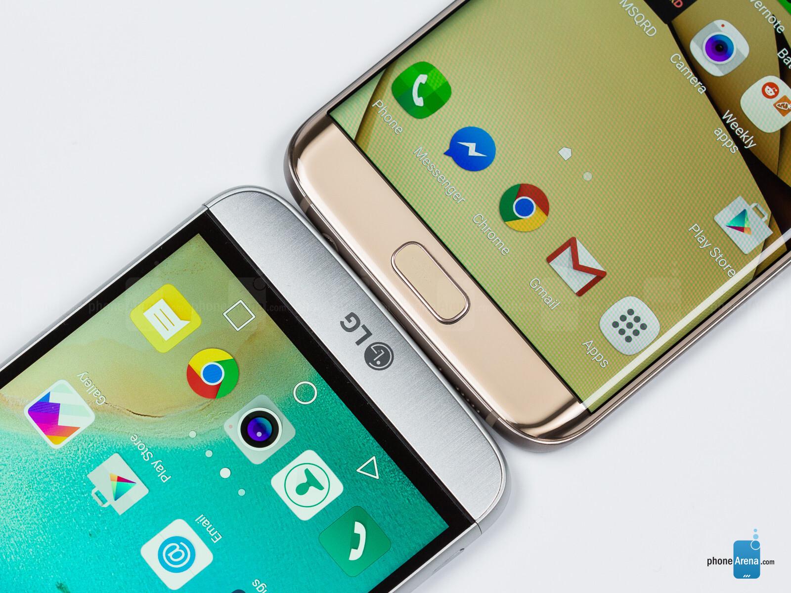 LG G5 vs Samsung Galaxy S7 edge - PhoneArena