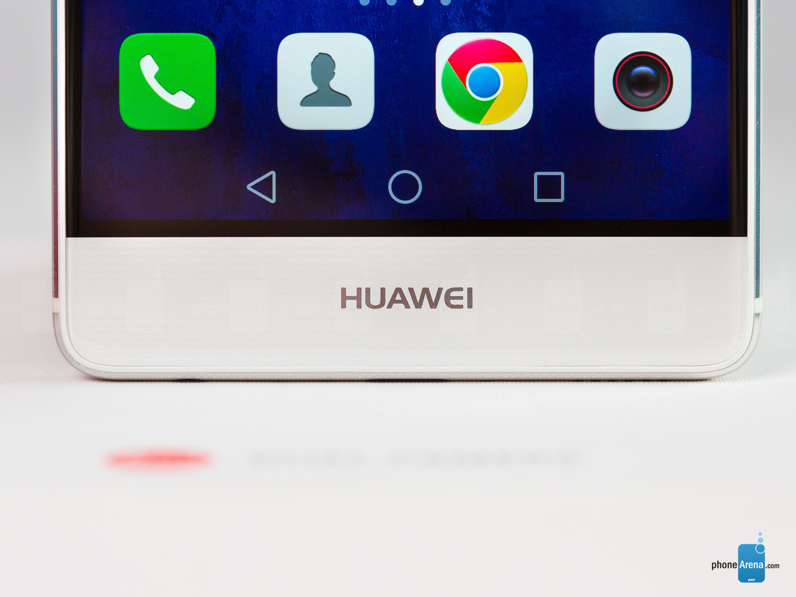 how to answer a call on a huawei phone