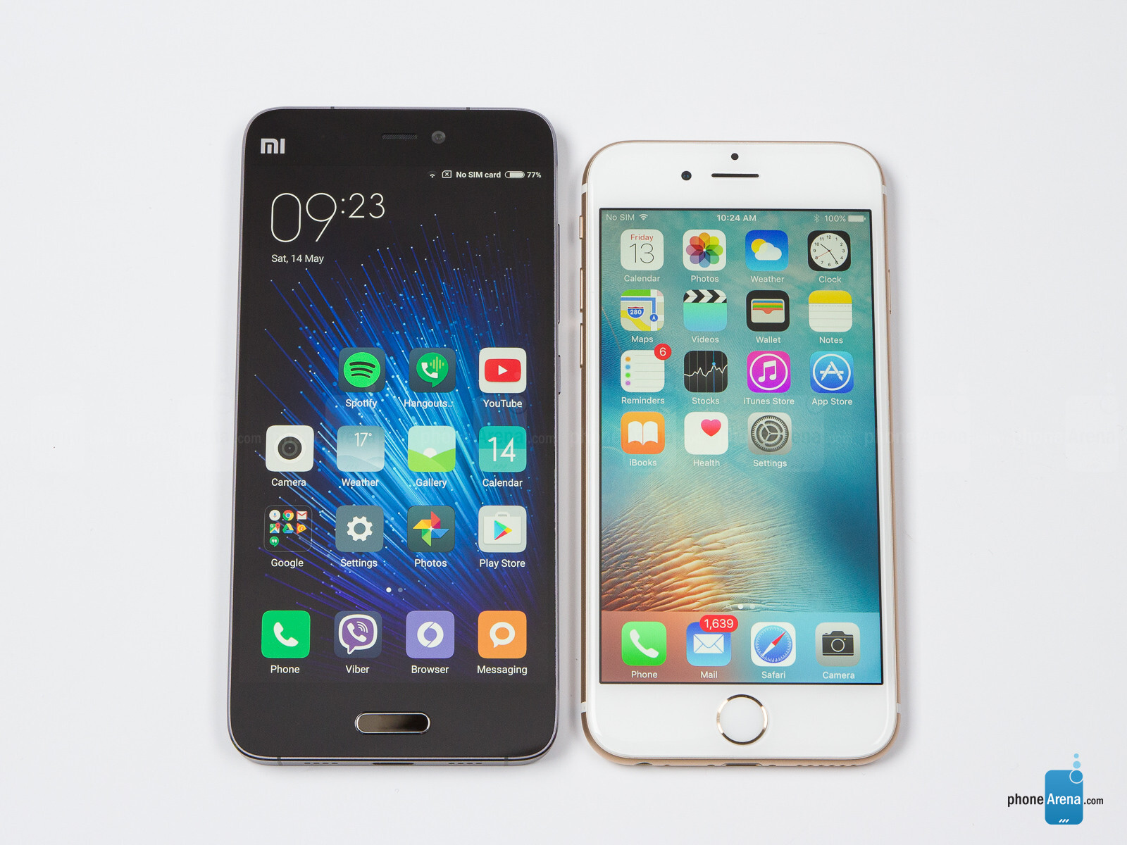 xiaomi mi 5 vs iphone 6s plus fotoqualität