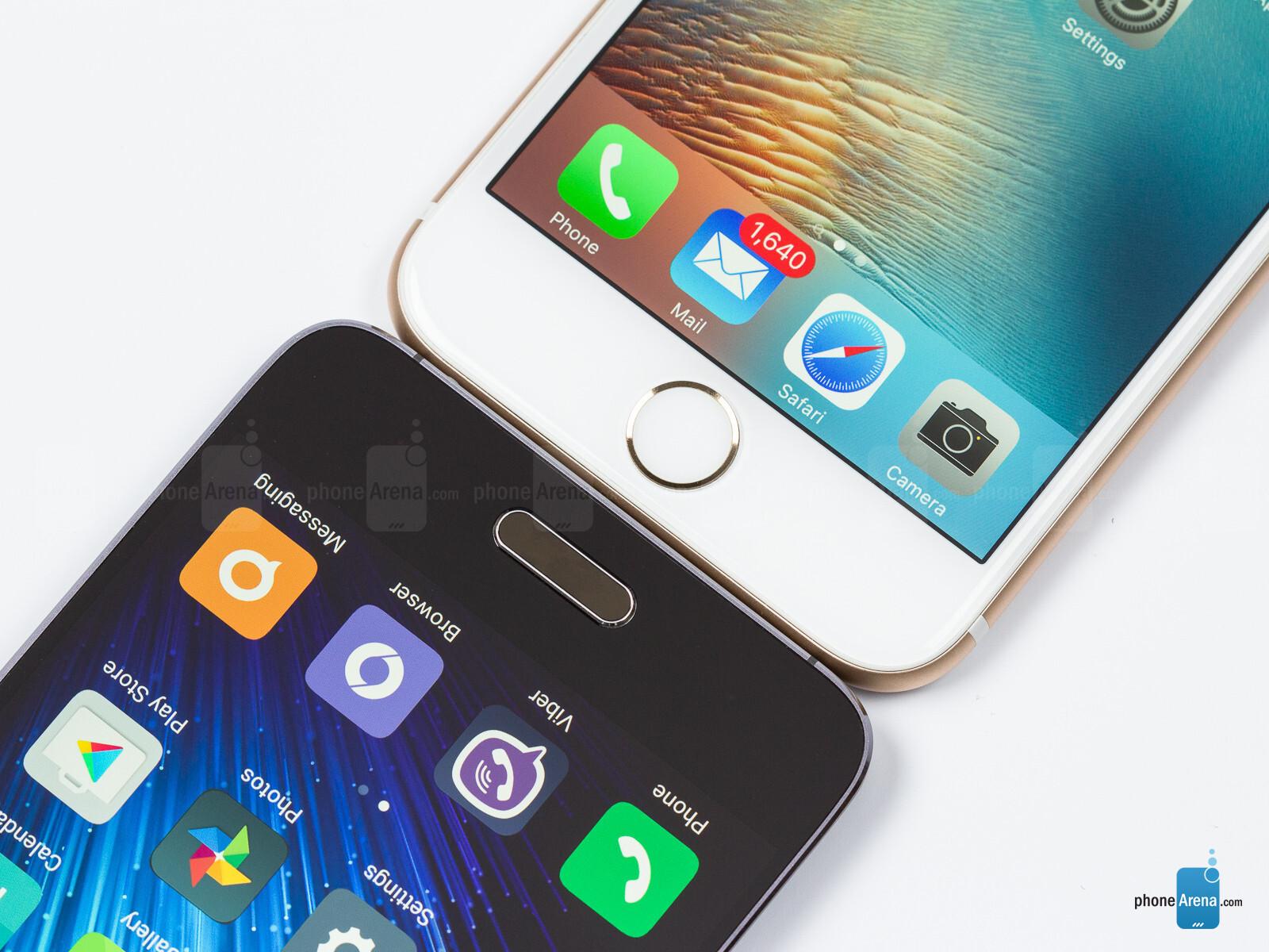 aab29aa07ab Xiaomi Mi 5 vs Apple iPhone 6s - PhoneArena