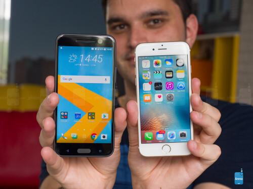 HTC 10 vs Apple iPhone 6s