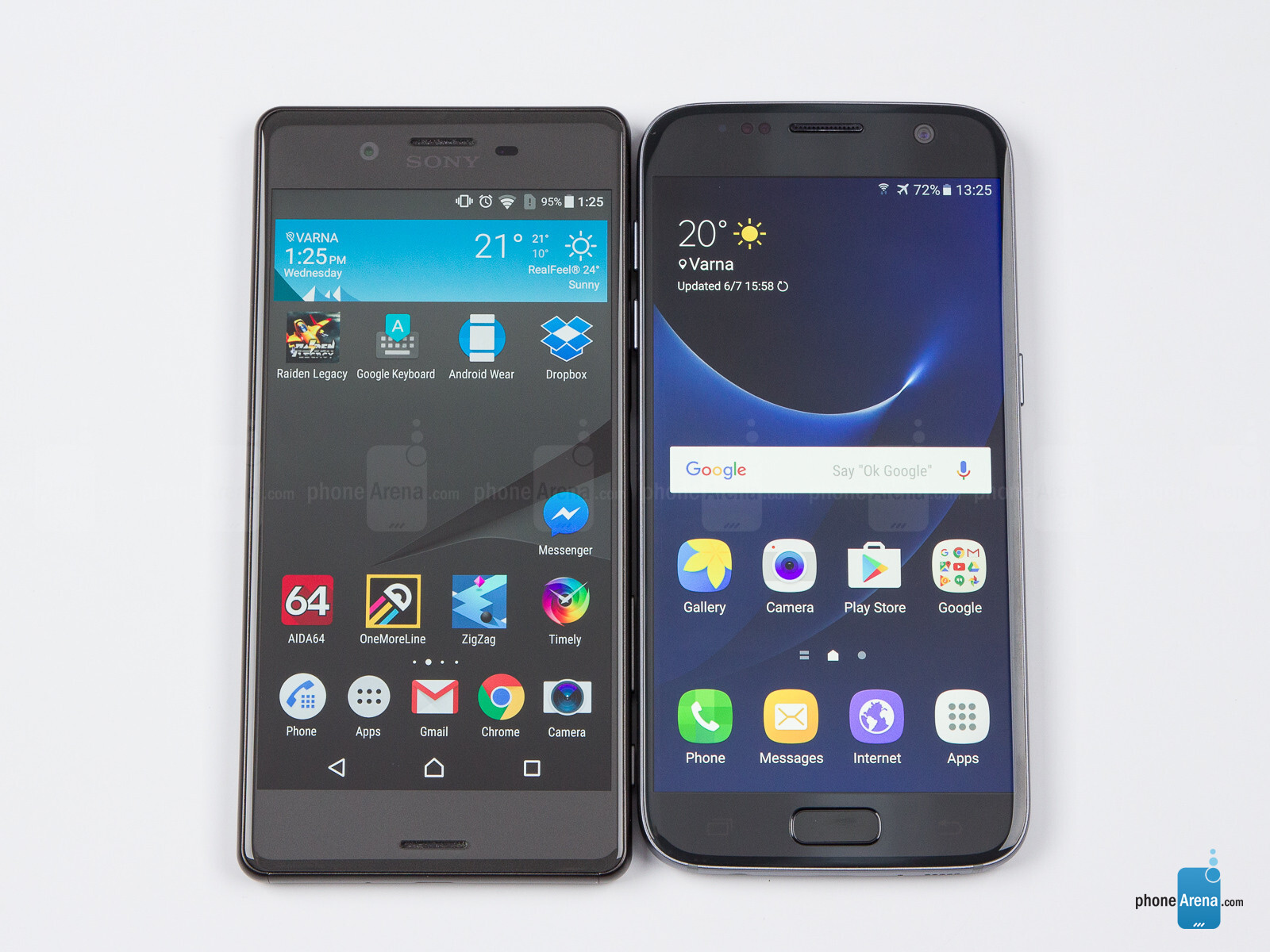 Sony Xperia X vs Samsung Galaxy S7