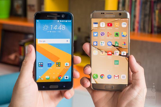 HTC 10 vs Samsung Galaxy S7 edge